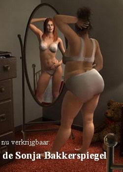 vrouw buik vol van