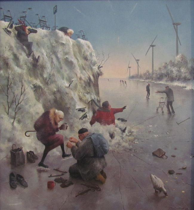 Afbeeldingen Wintertaferelen: Marius Van Dokkum In Harderwijk